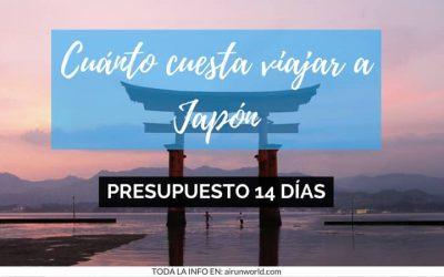 Cuánto cuesta viajar a Japón. Presupuesto para dos semanas