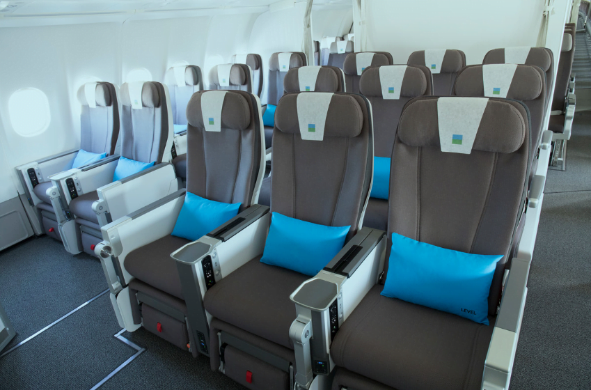 cabina premium avion level