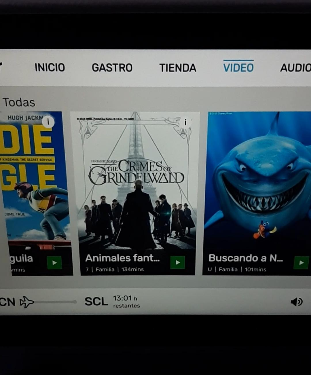 peliculas a bordo avion level