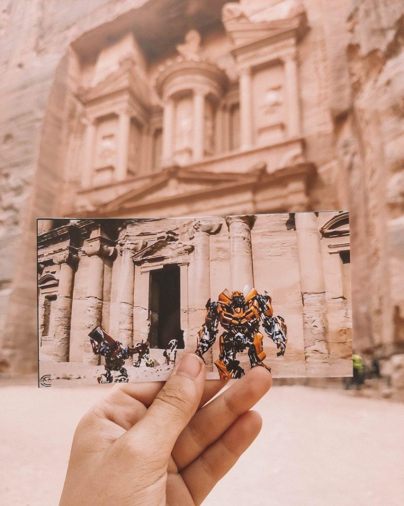 pelicula transformers petra jordania