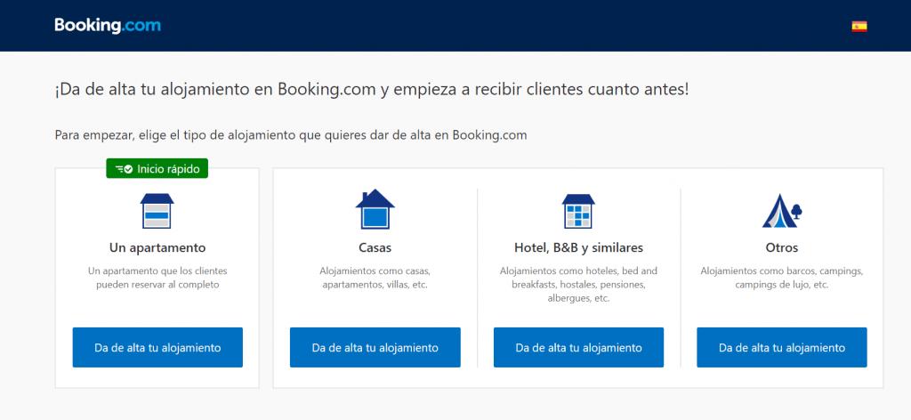 como poner mi alojamiento en booking
