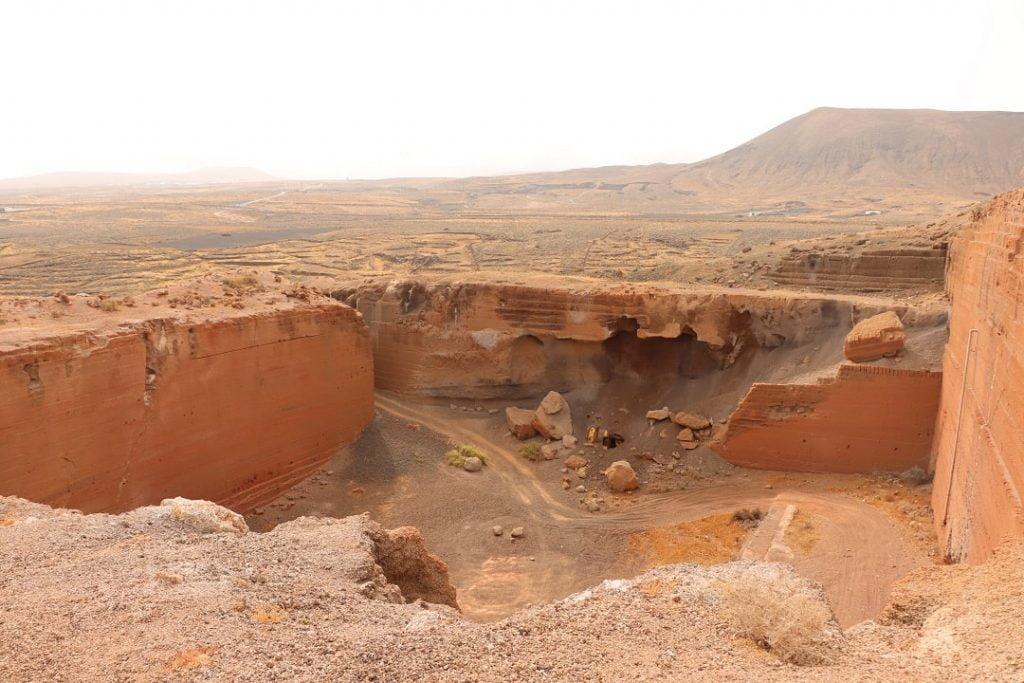 excavaciones tinamala lanzarote egipto